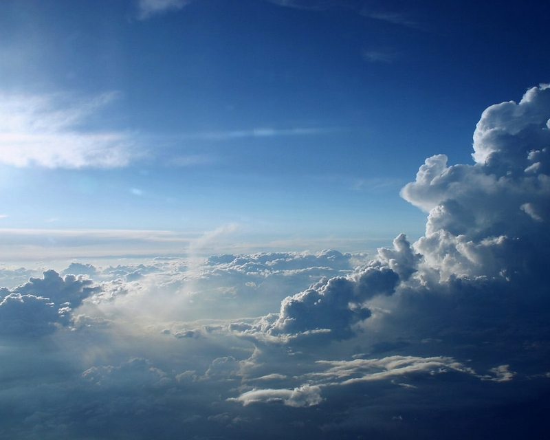 sky. How Beautifully Blue The Sky